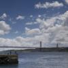 25 de Abril Bridge Lisbon photographed by Andrew Butler of Exeter