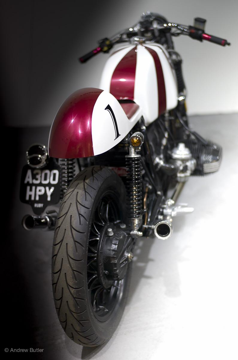 Kevil S Speed Shop S Ruby Bmw Cafe Racer 4